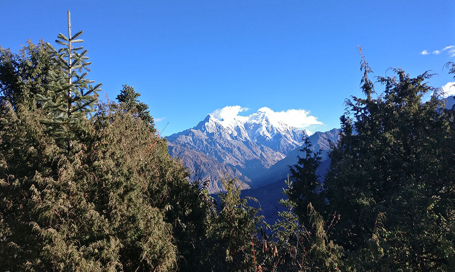 Mountains in Himalayas